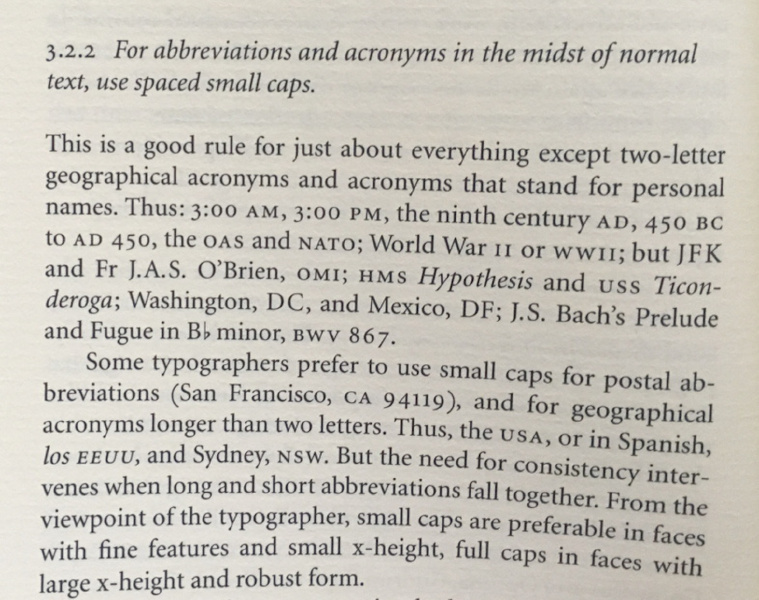 Robert Bringhurst on abbreviations